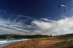 Kiteboard obraz royalty free