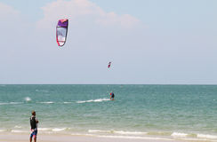 Kiteboard Royalty Free Stock Photography