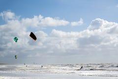 Kiteboarder photos stock