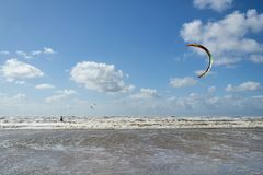 Kiteboarder images stock