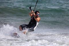 Kiteboarder Royalty Free Stock Photos