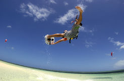 Kiteboarder Royalty Free Stock Image