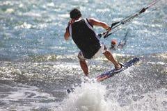 Kiteboarder royalty free stock photography