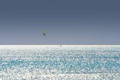 kiteboarder 库存图片