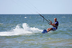 Kiteboarder Stockfoto