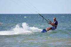 kiteboarder 库存照片
