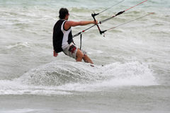 Kiteboarder Royalty Free Stock Photo