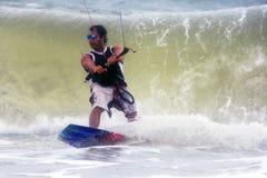 Kiteboarder Stock Images