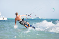 kiteboarding Стоковые Фото