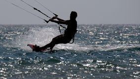 Kiteboarding Royalty Free Stock Image