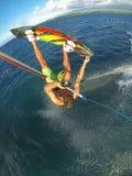 Kiteboarding Obrazy Royalty Free