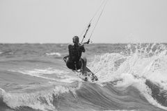 Kiteboarding Royalty-vrije Stock Fotografie