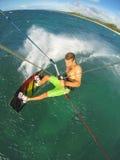 Kiteboarding Royalty Free Stock Photo