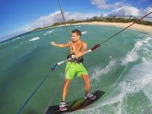 Kiteboarding Royalty Free Stock Image