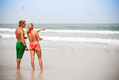 kiteboarding rywalizacja podawcy Zdjęcie Stock