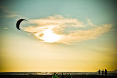 Kiteboarding Stock Images