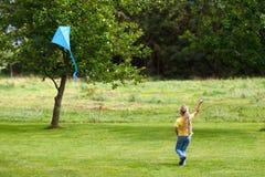Kiteflying Stock Photo