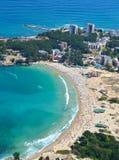 Kiten海滩,保加利亚 免版税库存照片