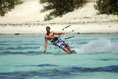 Kiter en vent du Madagascar Photo libre de droits