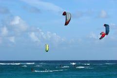 Kiters Tag heraus Stockfotografie