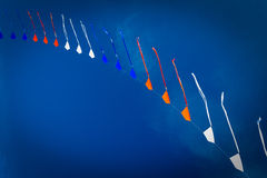 Kites. In the blue sky Stock Photo