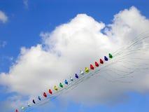 Kites. Colorful kites Royalty Free Stock Photography