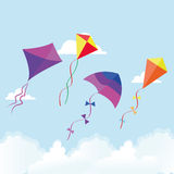 kites Foto de Stock Royalty Free
