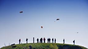 Kites. Festival in Helsinki, Finland Stock Images