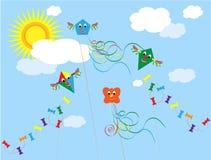 Kites Stock Photo