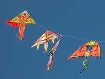 Kites flying Stock Photo