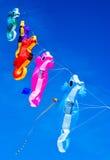 Kites flying over Treasure Island Beach, Florida Stock Photography