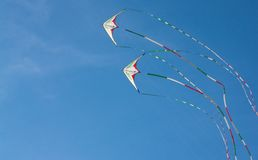 Kites flying in the sky Stock Photography