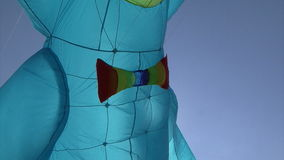 Kites flying in the sky stock video footage