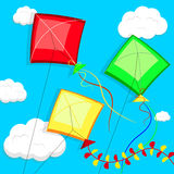 kites Ilustração do vetor Imagem de Stock Royalty Free