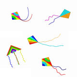 Kites Isolated Royalty Free Stock Photos