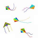 Kites Isolated Royalty Free Stock Photos