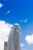 Kites Over Gold Coast Stock Photo