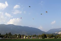 Kites Stock Photography