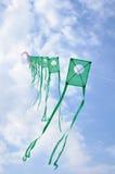 Kites in the sky Stock Photos