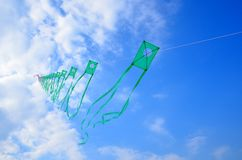 Kites in the sky Royalty Free Stock Images