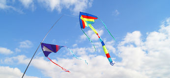 Kites in the Sky Royalty Free Stock Photo