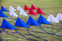Kites. In Thailand cultural festival Royalty Free Stock Photography