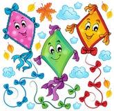 Kites theme image 3 Royalty Free Stock Photography