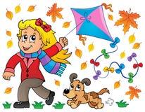 Kites theme image 7 Stock Image