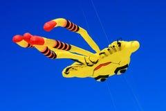 Kites un The blue sky Royalty Free Stock Photos