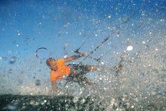 Kitesurf自由式 库存图片