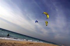 Kitesurf Immagini Stock Libere da Diritti