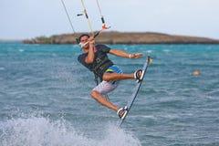 Kitesurf Stockfotografie