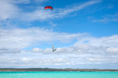 kitesurf Royaltyfri Bild
