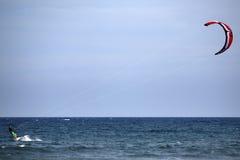 kitesurf Royaltyfria Foton
